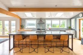 big island kitchen big island kitchen design of the week windows great views and a