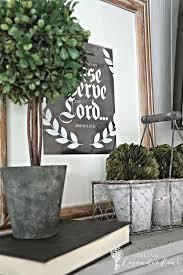 Mantel Topiaries - spring decorating