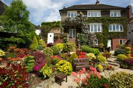 images of beautiful home gardens in decor ideas with garden trends