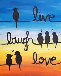 wine and canvas live laugh love saturday march 21 2015 1