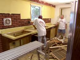 kitchen furniture install kitchens base how to yourself youtube 43