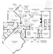 craftsman style house plan 3 beds 2 5 baths 2404 sq ft plan 119