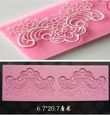 home decorating tools promotion 2017 flower fondant cake instant lace silicone mold cake