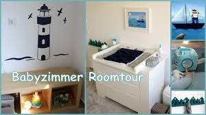 Baby Zimmer Deko Junge Kinderzimmer Roomtour Marine Stil Für Baby Jungen