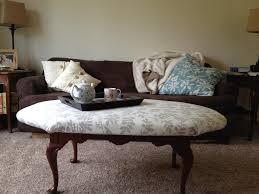 custom ottoman coffee table