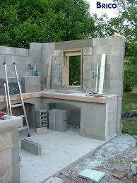 construire sa cuisine d été cuisine d ete exterieure construction