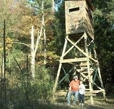 Reflective Deer Blind Hunting Blind Plans