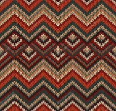 beautiful knitted fabric pattern red green knit style seamless