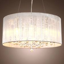 Chandelier Shade Fabric Drum Shade Chandelier With Best Innovative And 2 On