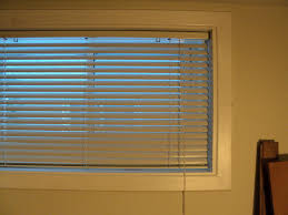 basement window blinds