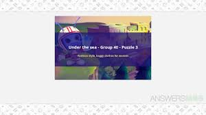 codycross under the sea group 40 puzzle 3 codycross under the