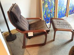 Ottoman Chair Poang Chair Poang Chair Assembly Poang Chair And Ottoman