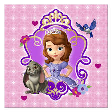 sofia the birthday disney princess the birthday party beverage napkins
