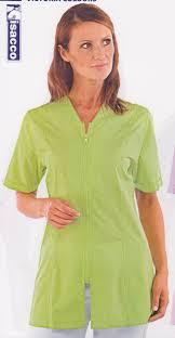 blouse femme de chambre hotellerie tunique femme medicale vêtements linge de maison