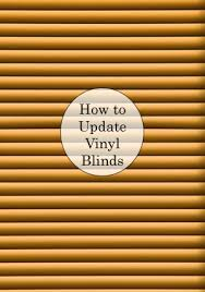 painting vinyl blinds