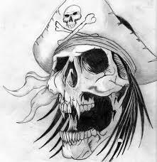 skull stencils free clip free clip