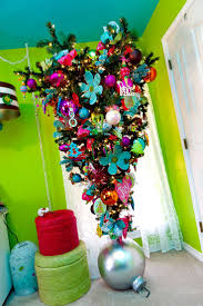 Cute Decorations For Christmas Tree by 46 Best Upside Down Christmas Trees Images On Pinterest Upside
