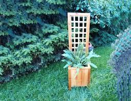 Small Trellis Planter How To Build A Garden Trellis From Start To Finish