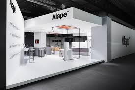 trade fair booth design 3d architecture messedesign alape