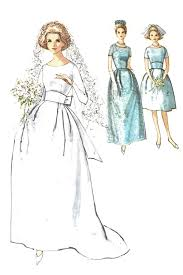 vintage wedding dress patterns simplicity 5342 vintage wedding dress sewing pattern dressing