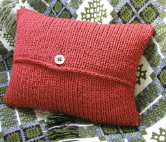 Patterns For Knitted Cushion Covers Envelope Cushion Cover Knitting Pattern This Is Available U2026 Flickr