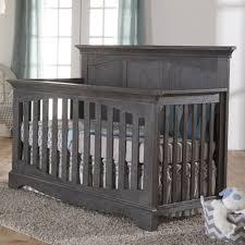 Pali Cribs Amazon Com Pali Ragusa Convertible Crib In Distressed Granite Baby