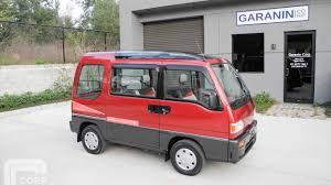 subaru domingo 1991 subaru sambar dias2 awd supercharged kei mini van amazing