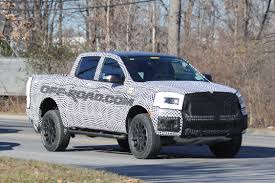 2019 ford ranger spy shots and video 2019 ford ranger fx4 caught in its production body off road com blog