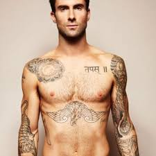 adam levine s 17 astounding tattoos their meanings oh sport
