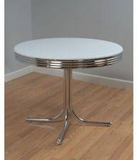 Chrome Dining Table EBay - Chrome kitchen table