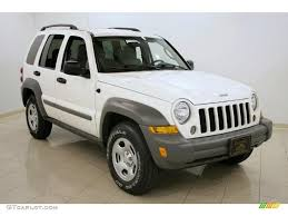 jeep 2005 liberty 2005 white jeep liberty sport 4x4 27325234 gtcarlot com