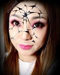 45 examples of diy halloween makeup art and design