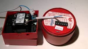 wire a fire call point and fire sounder without a fire panel
