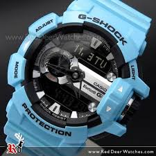 light blue g shock watch buy casio g shock bluetooth g mix music control 200m shiny light