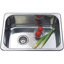Project Sink Bowl X SQ Only Large Xmm B  Bunnings - Bunnings kitchen sinks