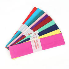 where to buy crepe paper sheets aliexpress buy hot 7sheets lot sided colored crepe