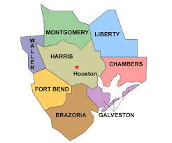 map houston harris county image result for harris county maps