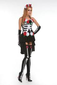 vampire costume for women skull zombies costume deguisement