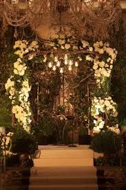 wedding arches with lights branch wedding arch