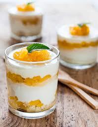 cuisine verrine verrine au fromage blanc et orange thermomix pour 4 personnes