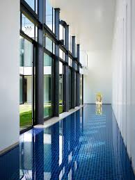indoor swimming pool bright contemporary home in tokyo japan
