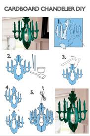How To Make Homemade Chandelier Ok Girls Guys These Chandeliers Are Made 100 Of Cardboard Sell