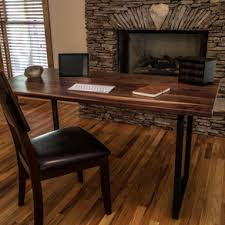 Desk Used Wood Desks For Sale Build A Wood Plank Desktop For by Custom Desks Custommade Com