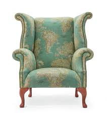 Queen Anne Wingback Chair Queen Anne Wingback Chair Ministry Of Upholstery