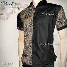 desain baju batik pria 2014 desain baju batik pria kombinasi yang trendi dan 15 contoh model