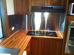 new stainless steel splashback and repolished bench tops deejaycm