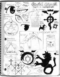 random fma sketches by oridragon77 on deviantart