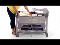 Graco Pack N Play Changing Table Graco How To Assemble A Napper On A Pack U0027n Play Youtube