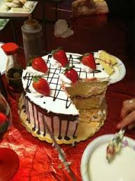 tres leches cake decorated heavenly desserts pinterest tres
