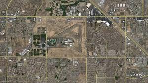 Arizona Google Maps odd desert triangles the daily google earth